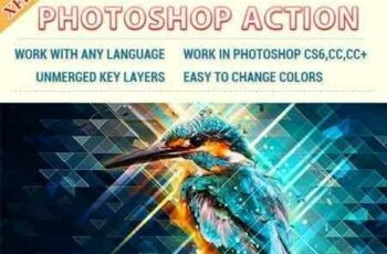 1703031 Low Poly Art Photoshop Action 19524549 4
