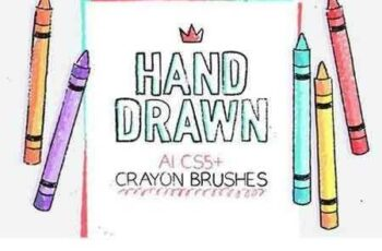 1703058 134 Illustrator Crayon Brushes 1265464 4