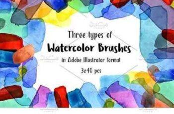 1703063 №237 Watercolor Brushes 1 1313289 4