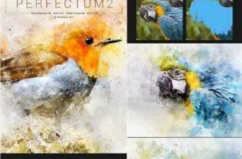 1703065 Perfectum 2 - Watercolor Artist Photoshop Action 19501970 5