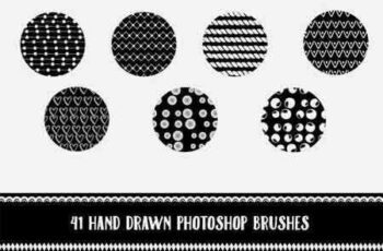 1703066 Hand Drawn Brushes for Photoshop 1340617 6