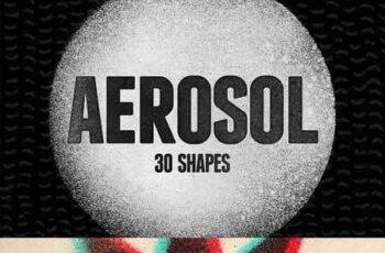1703070 30 Aerosol Shapes Vol.1 13843 5