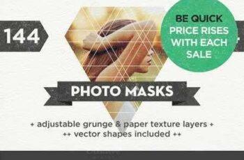 1703074 144 Photo Masks + Vector Shapes 321541 6