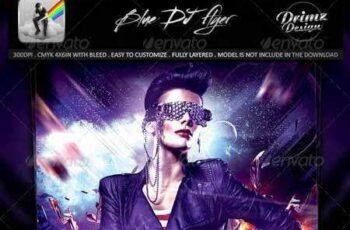 1703101 Blue DJ Flyer 8120559 4