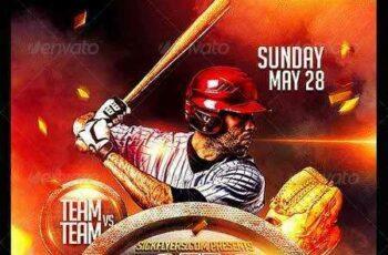 1703102 Baseball Flyer Template PSD 7172103 3