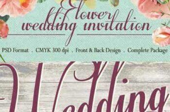 1703132 Sweet Flower Wedding Invitation 10957312 3