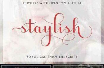 1703140 Staylish Script Upright 1353127 8