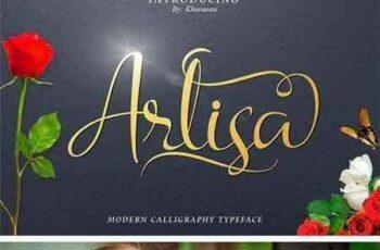 1703146 Arlisa Script (Extra) 1353415 4