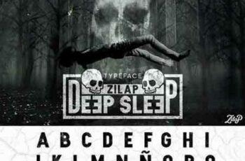 1703147 Zilap Sleep font 5