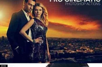 1703158 Pro Cinematic Photoshop Actions 1351598