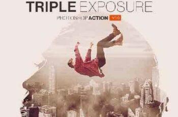 1703169 Triple Exposure Photoshop Action 19446971 3