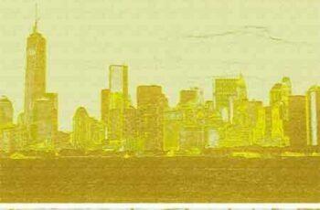 1703174 Gold Paint Photo Effect 1256404