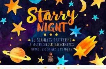 1703019 Starry Night, Pattern Pack 1269597 3