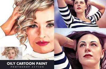 1703181 Oily Cartoon Paint Action 19453435 4