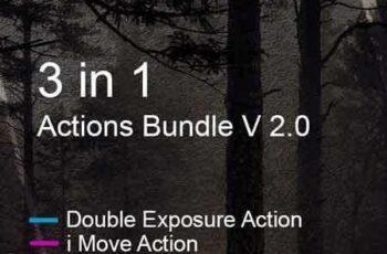 1703183 3 in 1 Actions Bundle V 2.0 19494240 2