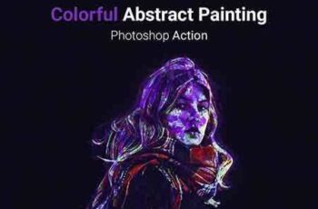 1703201 Colorful Absract Painting - Photoshop Action 19645898 8