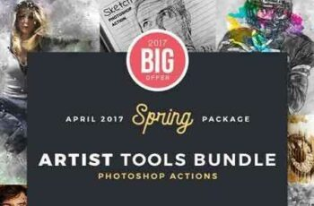 1703211 Artist Bundle Photoshop Actions - 8 in 1 19680991 6