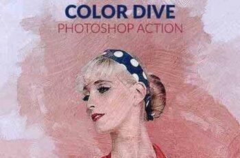 1703225 Color Dive Photoshop Action 19268557 8