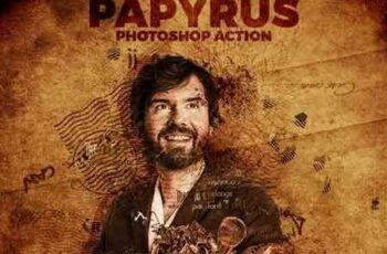 1703227 Papyrus Photoshop Action 15084106 2