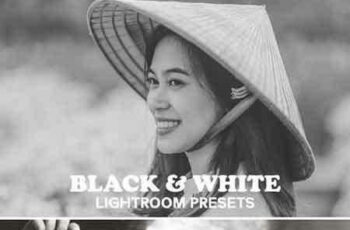 1703242 Black and White Collection Lightroom Presets 4
