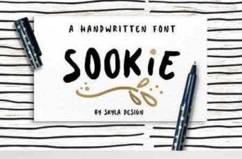 1703251 Cute handwritten font, Sookie 1326294 6