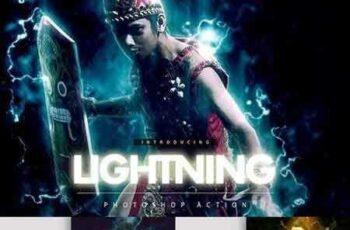 1703262 Lightning Photoshop action 1410278 6