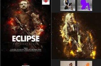 1703287 Eclipse Photoshop Action 18609643 6