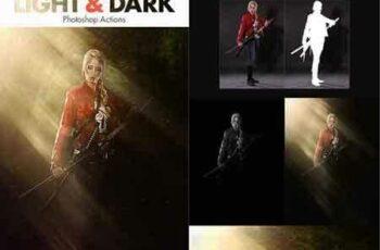 1703316 Light & Dark - Photoshop Actions 20002802 4