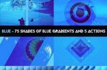 1703331 BLUE - 75 gradients & 5 actions 1284112 5
