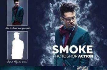 1704001 Smoke Photoshop Action 1494100 7