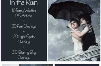 1704012 Rain Bundle - Actions&Overlays 1546035 2