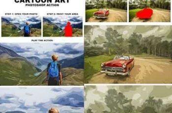 1704026 Cartoon Art Photoshop Action 20203842 7