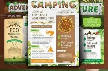 1704033 Adventure, camping, nature flyers 1586916 4