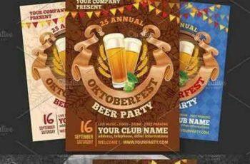 1704072 Oktoberfest Beer Party Flyer 1644947 2