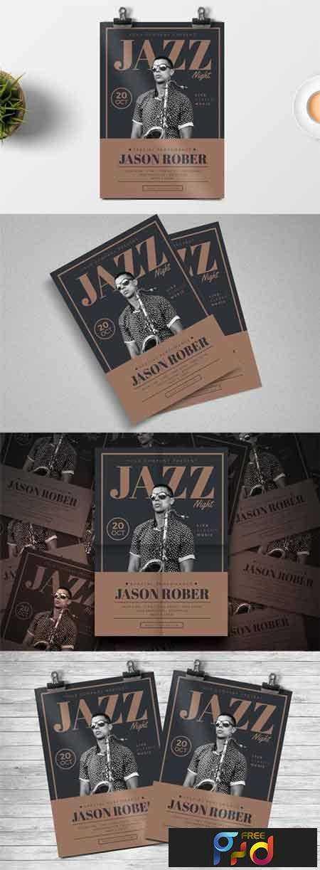 FreePsdVn.com_1704087_PRINT TEMPLATE_jazz_night_flyer