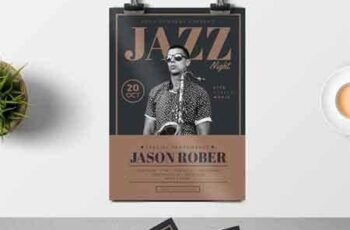 1704087 Jazz Night Flyer 11