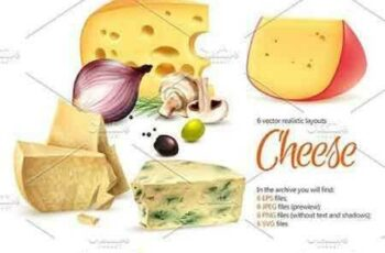 1704122 Cheese Realistic Set 1656355 4