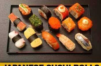 1704125 Japanese Sushi Rolls - 25 HQ Images