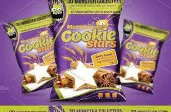 1704136 Cookie packaging design template 1635010 5