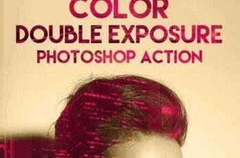 1704164 Color Double Exposure Photoshop Action 19524674 2