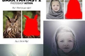 1704193 Dark Fantasy 2 Photoshop Action 16845940 4