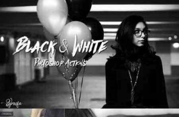 1704208 60 Black & White Actions Effects 132375 7