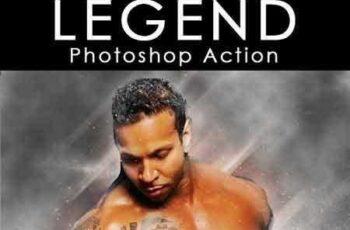 1704226 Legend Photoshop Action 16611966