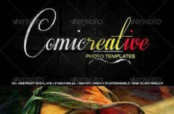1704239 Comicreative Photo Templates 6204093 6