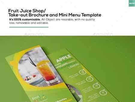 free takeout menu templates