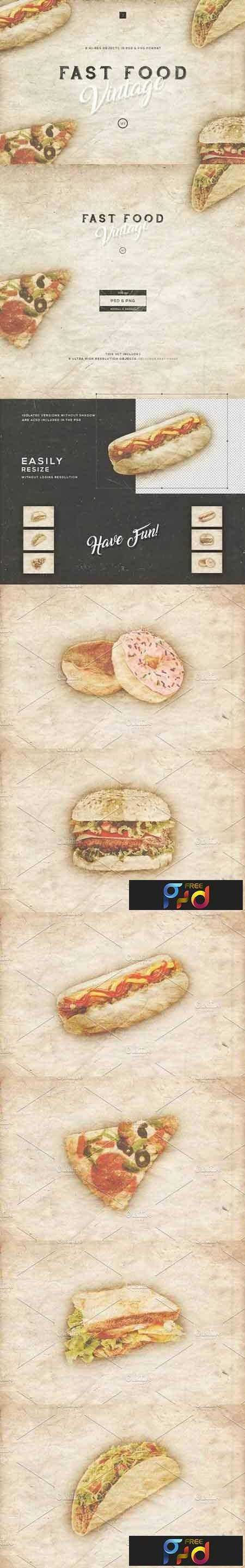 FreePsdVn.com_1704279_TEMPLATE_fast_food_vintage_set_1317082