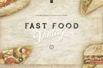 1704279 Fast-Food Vintage Set 1317082 3