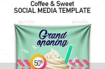1704281 Set 6 Instagram Templates for Food and Drinks Business 20238514 4