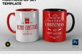 1704293 Mug Mock-up Set Template 1684478 5