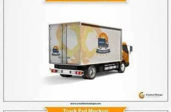 1704295 Delivery Truck Psd Mockup 1690331 5